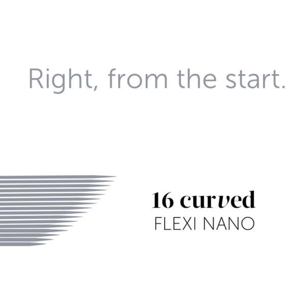 Tina Davies - Essential 16 Curved Nano Microblade - 8 Pack