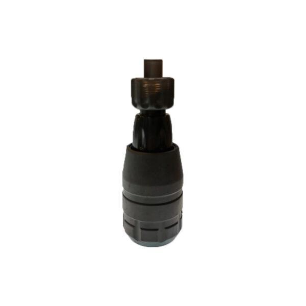 Disposable Adjustable Tube For Cartridge - Black