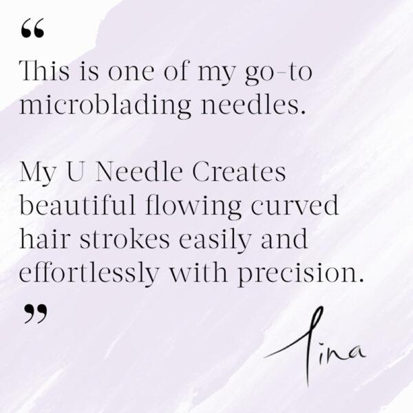 Tina Davies - U needle Signature Microblade 10pk